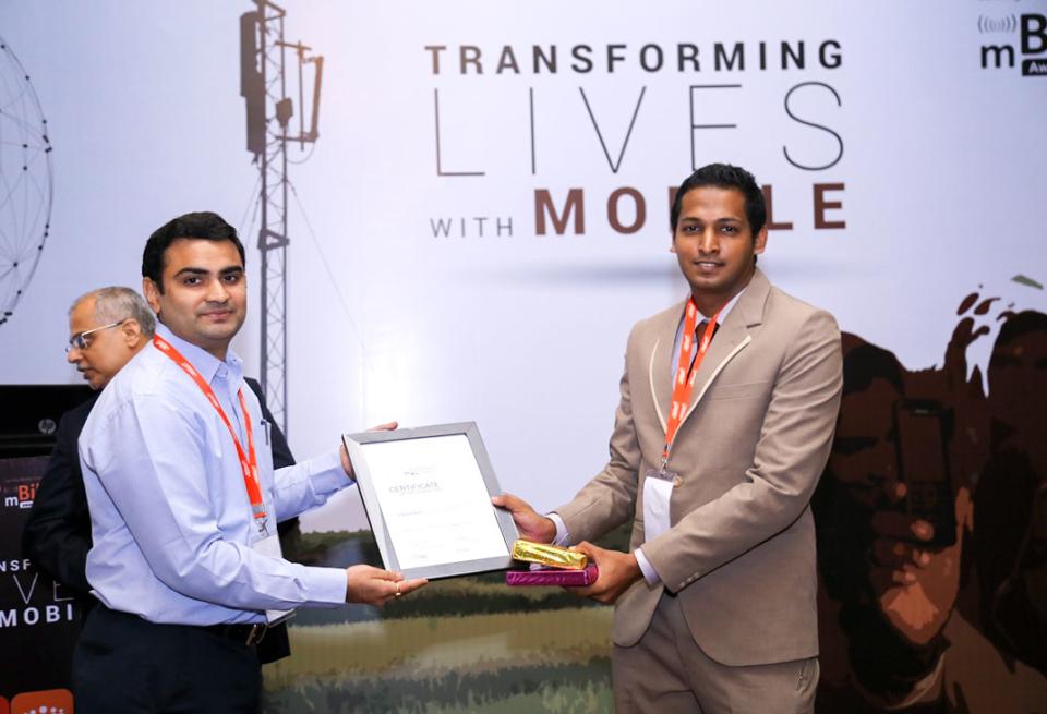 mBillionth awards 2016 India Examiner won 7th
