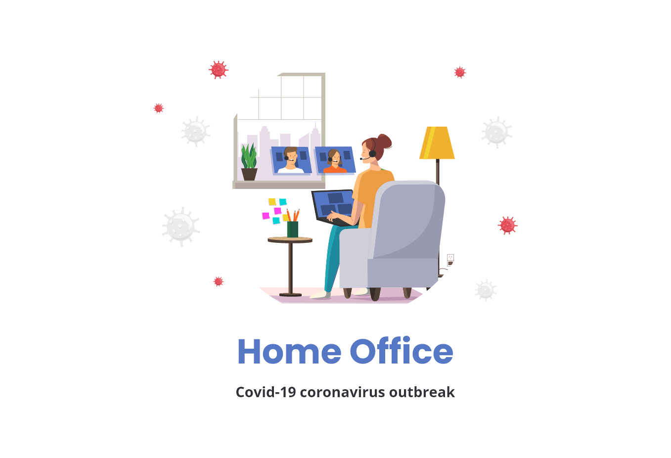 Work from home tips - interact with co-workers