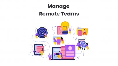 Manage Remote Teams