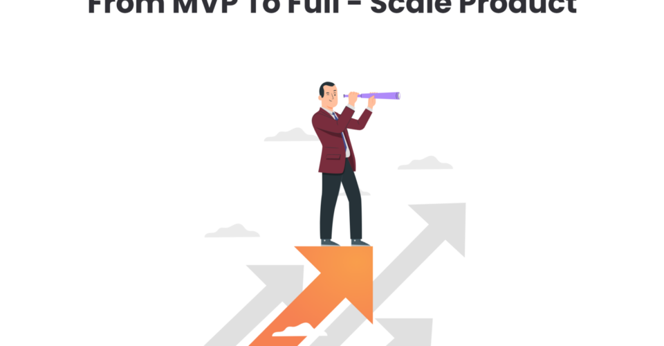 From Minimum Viable Product to Full-Scale Software