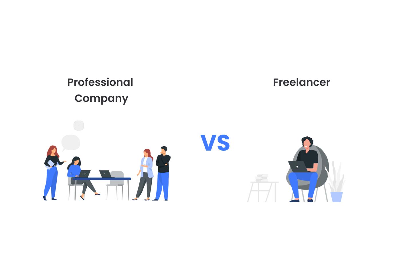 Mobile App Development Company vs Freelancer